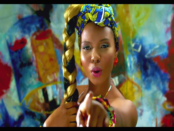 Yemi-Alade-Kissing-Video-Art