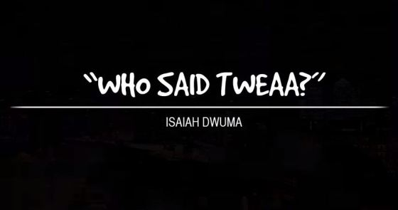who-said-tweaa